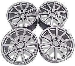 Bill Smith Auto Replacement For AEZ Straight Aluminum Wheel Rim For 20x8.5 Inch Graphite Matt – Set Of 4 Wheels