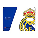 Mars Gaming MMPRM, alfombrilla Real Madrid, base caucho natural, 35 x 25 cm