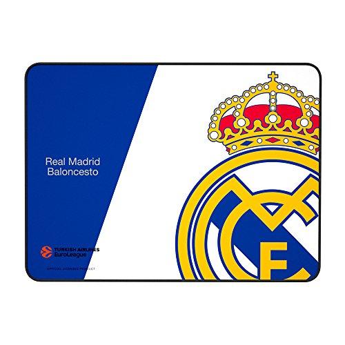 Mars Gaming MMPRM, alfombrilla Real Madrid, base caucho...
