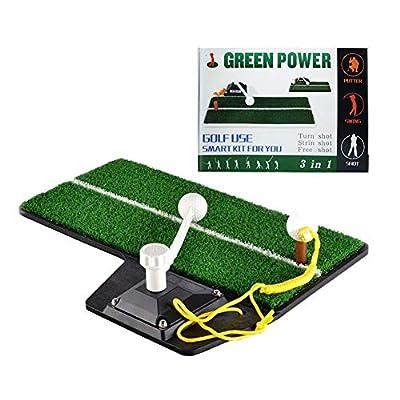 Golf-Übungs-Schaukelmatte Startrampe Golf-Übungsmatte Golf-Krafttrainingsstange