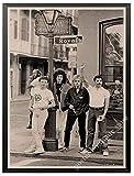 ZOEOPR Poster Queen Band Musik Poster Freddie Mercury Und