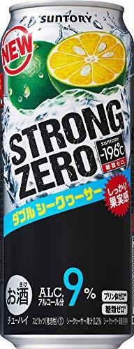 サントリー ストロングゼロ -196℃ ダブルシークワーサー 缶500ml×24 [0943]