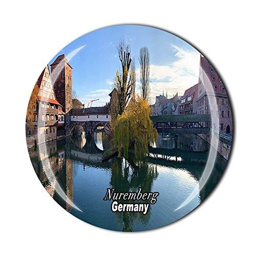 Kühlschrankmagnet Nürnberg Deutschland Souvenir Geschenk Kühlschrank Dekor Magnetaufkleber