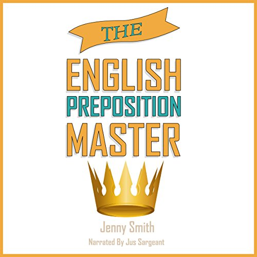 The English Preposition Master audiobook cover art