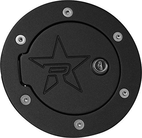 RBP (6041KL-RX2) Fuel Door, Black