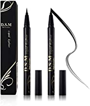 Waterproof Liquid Eyeliner Long Lasting&Smudgeproof Eye Liner 2 Packs Precise..
