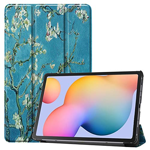 NUPO Hülle für Samsung Galaxy Tab S6 Lite 10.4 2020, Ultra Slim Cover Schutzhülle PU Lederhülle mit Standfunktion, Sleep Wake Up Funktion Kompatibel für Galaxy Tab S6 Lite 10.4 SM-P610/P615, color7