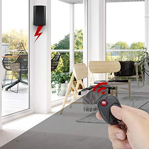 Omabeta Sensor Seguro de la Puerta de la Alarma de la Puerta de la Ventana del Sistema de Seguridad del hogar antirrobo para el Chalet