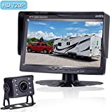AMTIFO A13 HD 720P Backup Camera Kit,7 Inch Monitor with Rear View Camera System Designed for Cars,Pickups,Trucks,Trailers,RVs,Easy Installation