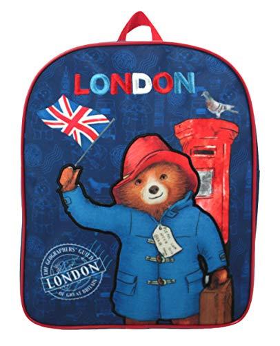 New Paddington Bear Bag Backpack Merchandise. Ideal for School, Nursery or Days Out!