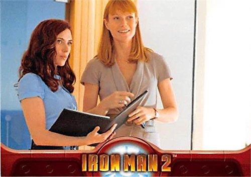 Scarlett Johansson and Gwyneth Paltrow trading card Iron Man 2 2010 Upper Deck #13