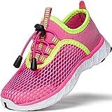 SAGUARO Zapatos de Agua Niñas Escarpines para Niños Zapatos de Playa Niños Transpirable Escarpines de Natación Zapatos de Exterior Verano Rojo Gr.35