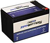 Chrome Battery 12V 14AH SLA Battery - Rechargeable, Replacement for Scooters and UPC Units