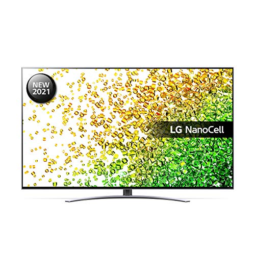 LG 50NANO866PA 50 inch 4K UHD HDR Smart NanoCell TV (2021 Model) with ?7 Gen4 AI processor, HDR, HFR, VRR, Dolby Atmos & Dolby Vision IQ, Google Assistant and Alexa compatible
