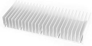 Nrpfell Aluminum Dissipatore di Calore Pinna di Raffreddamento 150Mmx60Mmx25Mm per Amplificatore di Potenza