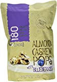 180 Snacks All Natural Gluten Free Almond Pops Snacks 15oz (Blueberries)