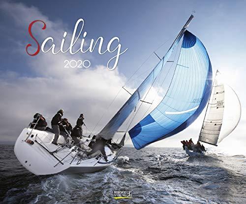 Sailing 2020: Segelkalender und Naturkalender über den Sport des Segelns. PhotoArt Kalender. Quer-format: 55 x 45,5 cm