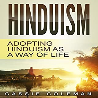 Hinduism audiobook cover art
