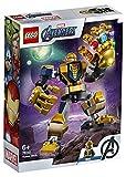 LEGO SuperHeroes MarvelAvengers MechThanos, Playset con Figura Mobile da Combattimento per Bambini dai 6 Anni in su, 76141