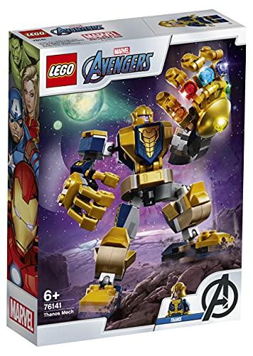 LEGO76141SuperHeroesArmaduraRobóticadeThanosJuguetedeConstrucción