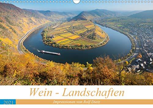 Wein - Landschaften (Wandkalender 2021 DIN A3 quer)