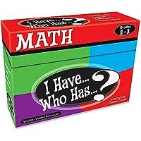 I Have... Who Has...? Math: Grades 2-3