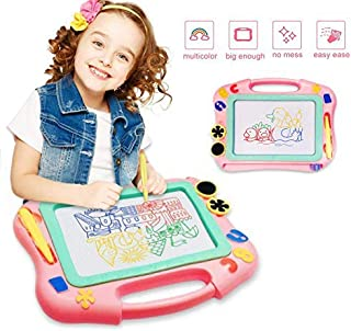 FONLLAM Magnetic Drawing Board – Kids Magna Writing Doodle Board – Toys for..