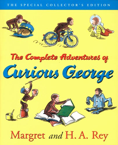 The Complete Adventures of Curious George (English Edition)