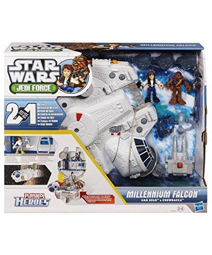 Hasbro 32984 Star Wars Millenium Falcon mit Han Solo & Chewbacca