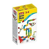 La versione super del saxoflute è un gioco di costruzione che permette al bambino di creare strumenti musicali pronti per essere suonati Puoi creare qualsiasi tipo di strumento che la fantasia ti suggerisce o imitare quelli veri: trombe, flauti, sass...