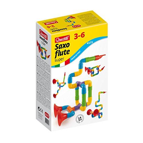 Quercetti Super Saxoflute Customizable Musical Instrument