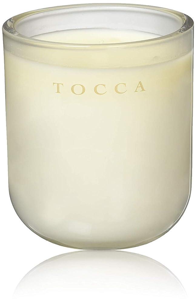 鮮やかなモス寄稿者TOCCA(トッカ) ボヤージュ キャンドル モントーク 287g (ろうそく 芳香 キューカンバーの爽やかな香り)