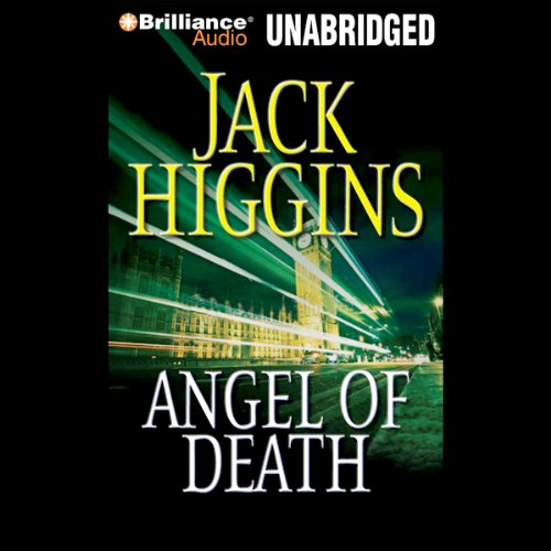 Angel of Death audiobook cover art
