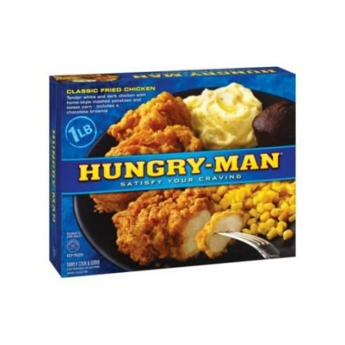 Hungry Man Classic Fried Chicken, 16.5 Ounce -- 8 per case.