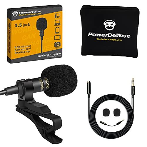 Professional Grade Lavalier Lapel Microphone Omnidirectional...