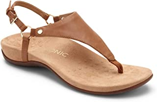 6da2835b5e49 Vionic Women s Rest Kirra Backstrap Sandal - Ladies Sandals with Concealed  Orthotic Arch Support