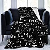 Fleece Blanket Ciencia Albert Einstein Matemáticas Física Mantas De Microfibra Manta De Tiro Sofá Súper Suave Cama Lujoso Sofá De Invierno Manta De Lana Decorativa Mantas De Lana 153cmX204cm
