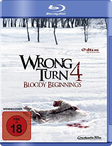 Wrong Turn 4: Bloody Beginnings [Blu-ray]