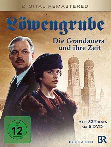 Die Grandauers und ihre Zeit - Die komplette Serie (Digital remastered) (8 DVDs)
