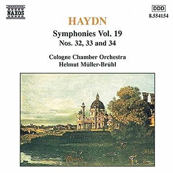 Haydn: Symphonies, Vol. 19 (Nos. 32, 33, 34)