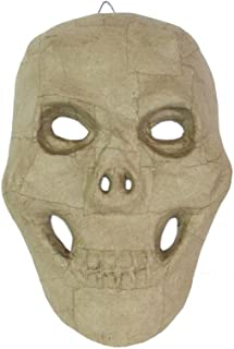 Craft Pedlars Craft Ped Paper Mache Mask Skull 10