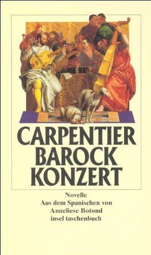 Barockkonzert: Novelle (insel taschenbuch)