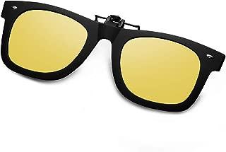 Polarized Clip On Flip Ups Sunglasses TR90 Frame UV400 Driving