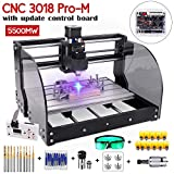 2-in-1 5500mW Engraver CNC 3018pro-M Engravering...
