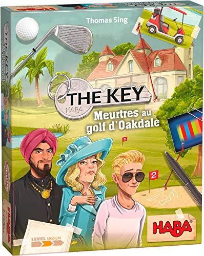 HABA- The Key – Asesinatos de Golf de Oakdale – Juego de investigación...