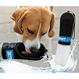 Pets First Dog Water Bottle. NFL Detroit Lions PET Water Bottle. Best Cat Water Bottle. Water Fountain Dispenser for Dogs & Cats.