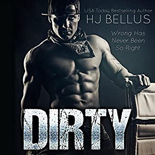Dirty audiobook cover art