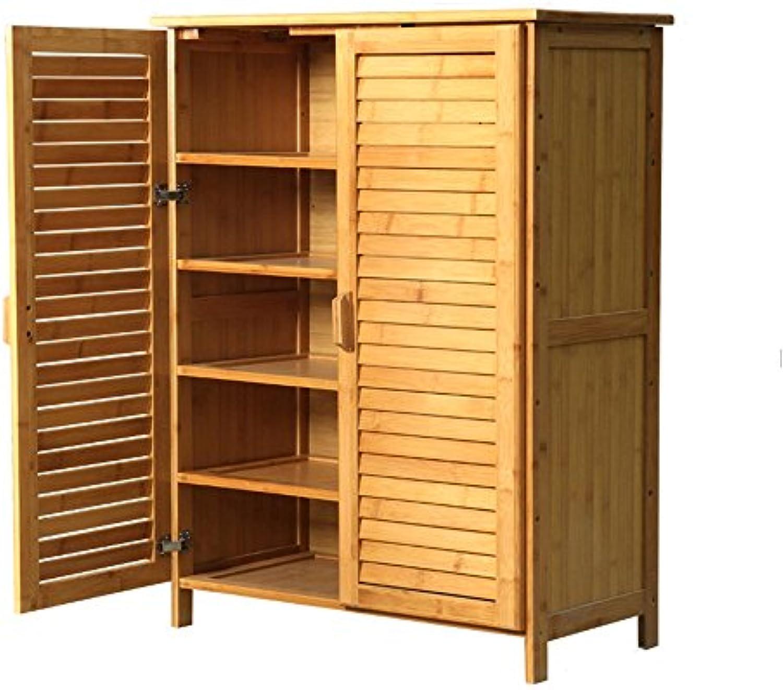 NAN Primitive Village Solid Bambus Mbel schuhebox Schliefcher Schrank