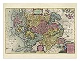the Blaeu Prints | Rendsburg-Eckernforde,