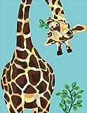 Pintura por números para adultos y niños, ABEUTY Marine Deer de 40,6 x 50,8 cm, terapia de arte con ...